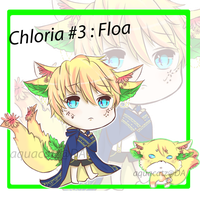 (CLOSED) AUCTION CHLORIA #3 : Floa by aquacatz