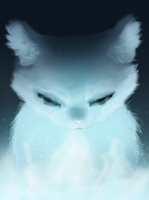 Bluestar {Warrior Cats Portraits I} by iamblossom