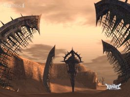 Lineage 2 Hellbound Island by Brownfinger