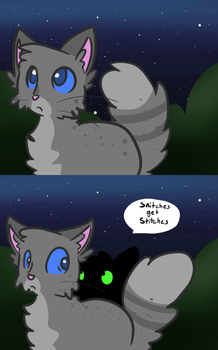 SNITCHES GET STITCHES by Ninja-Linx