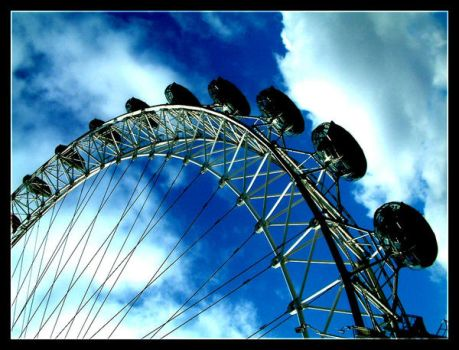 London Eye by Prain