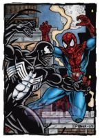 Venom VS Spider-Man by tonyperna