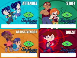 Jaycon 2012 Badge Designs by kevinbolk