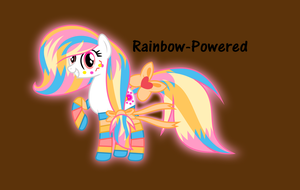 Rainbow-Powered Lemonade Paradise by The-Queen-Of-Cookies