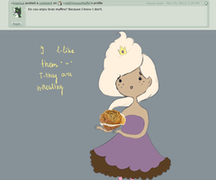 Q21:Bran muffin by AskPrincessMuffin