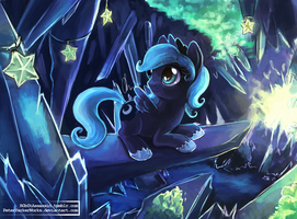 Little Luna by The-Keyblade-Pony