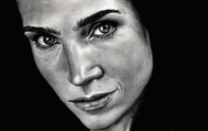 Jennifer Connelly by brlrdg