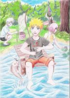 Naruto summer day by PumyteH