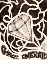 . : Chaos Emerald : . by Xypter