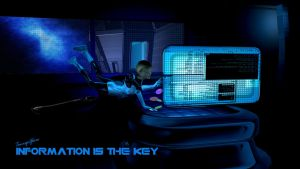 Information is The Key by TourqeGlare