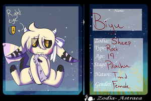 Zodia-Astraea Application - Biyu .:Sheep:. by princess-Aigis