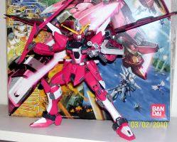 Infinite Justice Gundam MG by Renegade-V
