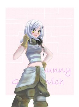 Art Trade: Sunny Emmerich by beside-XIV