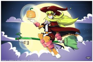 Anhrina Halloween Special ilustration by siekfried