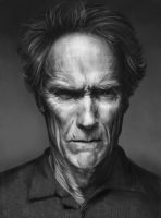 Clint Eastwood by Sechin