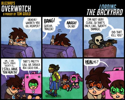 OVERWATCH | BACKYARD | Heelys by TheGouldenWay