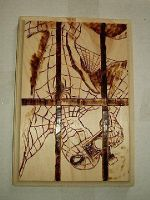 Marvels cover woodburning by NerdCraft