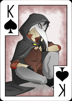 OC Cards Project: Kitano by Lightning-in-my-Hand