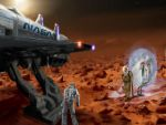 Meeting on Mars by psypher101