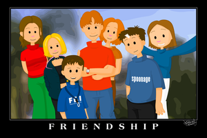 Friendship: The Ulladulla Crew by jellybeansoup