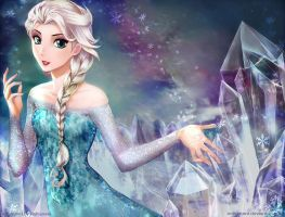 FROZEN - Snow Queen by Nekozumi
