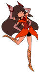 Steven Universe Gem Fusion - Hessonite by AnimalCreation
