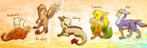 Gryphon Bunch by ShakShakalut