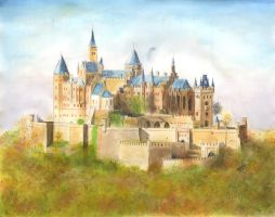 Hohenzollern Castle by DirtyPaws13