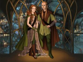 Cherise (Shizuka) and Legolas - LORD OF THE RINGS by COURTishLamb92