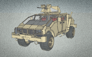 sketch Assault Vehicle by MSgtHaas