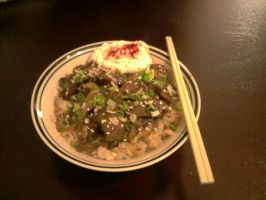 Beef Gyudon by Foxdale