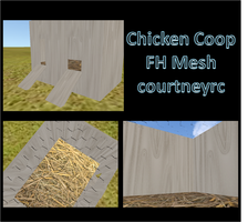 FH Chicken Coop Mesh by courtneyrc