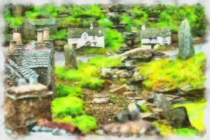 The Village - Paintography... by TheBaldingOne