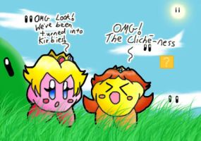 Kirby Transformation Cliche by chikisingergrl