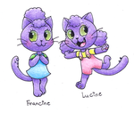 Francine and Lucine by Chenanigans
