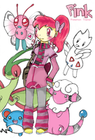 Pink Pokemon Trainer by TerryRose