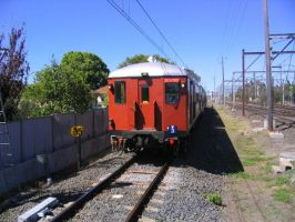 Pulling the old trains out... by Snowfreq
