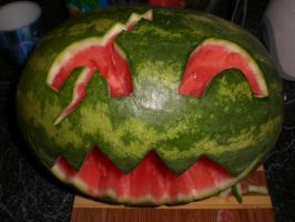 Evil Melon With Scar by SN2