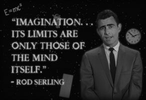 Twilight Zone Rod Serling Poster by truillusionstudios