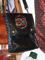 Aurin leather bag by funkydpression