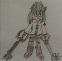 Keyblade Master Alex by A5L