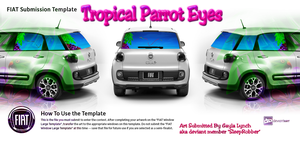 TropicalParrotEyes by sleeprobber