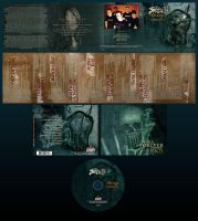 the setup - pretense cd design by damnengine