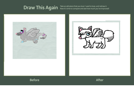 draw this again contest-dusk the wolf application by parisgirl126