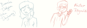 New tablet sketches by unearthlychild