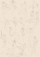 Figure drawing 1 (2 minutes) by calponpon