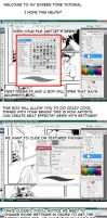 How to apply Screentones with Photoshop CS3 by DarkHalo4321
