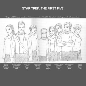 Star Trek : The First Five by arunion
