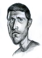 Matthew Fox as Jack Shephard from Lost by Caricature80