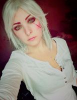 Ciri makeup - The Witcher 3 by Dragunova-Cosplay